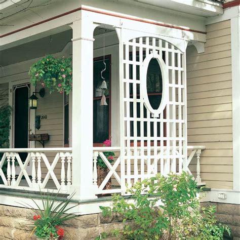 veranda lattice latticework porch trellis trellis porches and privacy