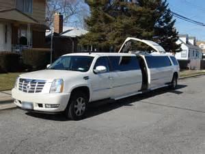 Limo Cadillac Escalade Escalade Limousine Pearl Limousines Nyc Inc Pearl