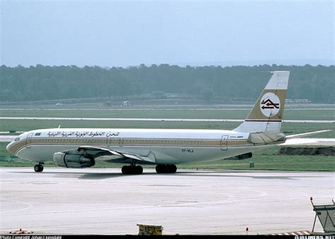 boeing 707 324c libyan arab airlines cargo eagle air of iceland arnarflug aviation photo