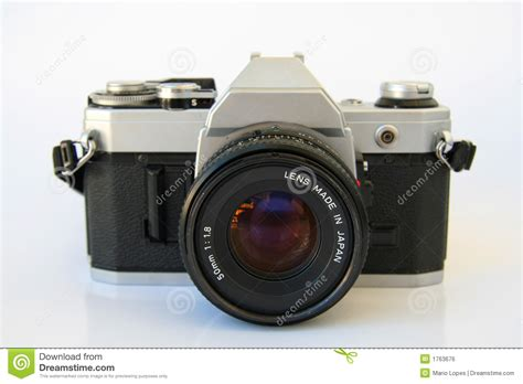 Kamera Canon Vintage vintage slr stock photo image of canon lense 1763676