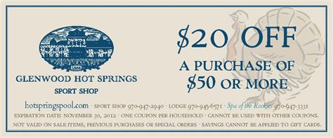 glenwood springs coupon may 2016 the coupons