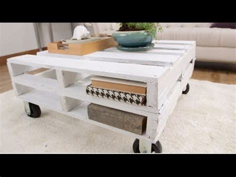 How To Make A Pallet Coffee Table How To Create A Pallet Coffee Table In One Afternoon Eye On Design