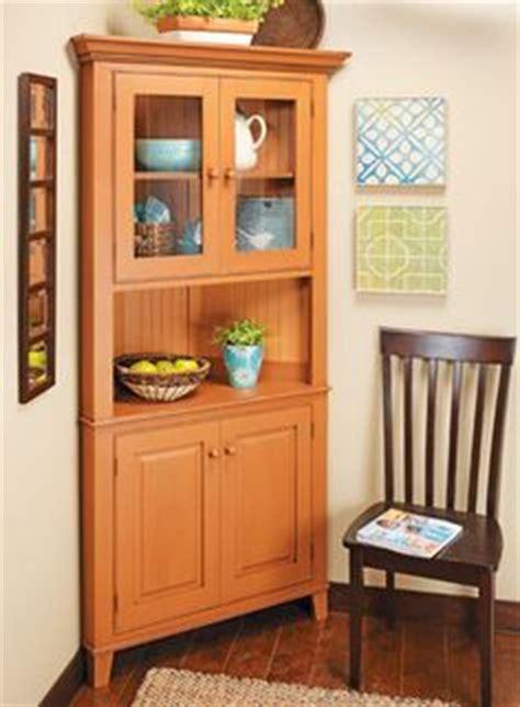 ana white build  corner cupboard   easy diy