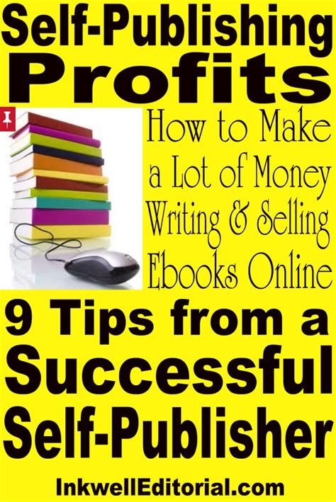 How To Make Lots Of Money Online For Free - how to make a lot of money selling self published ebooks online 9 tips from a