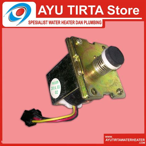 Water Heater Murah Bandung jual spare part water heater gas selenoid valve gas