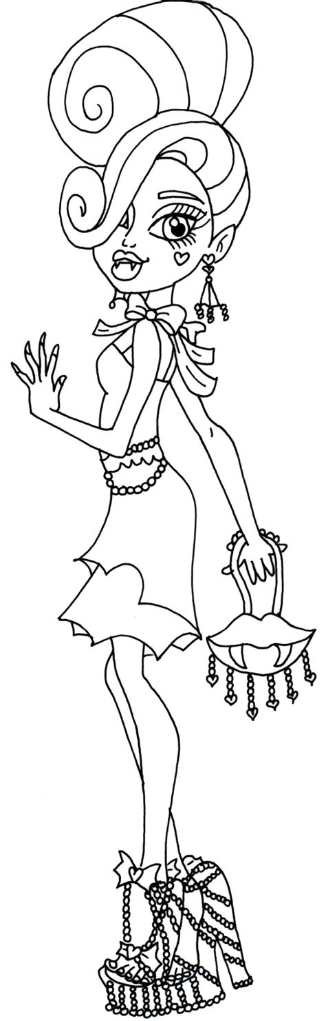 monster high gooliope coloring pages monster high 12 de beste kleurplaten