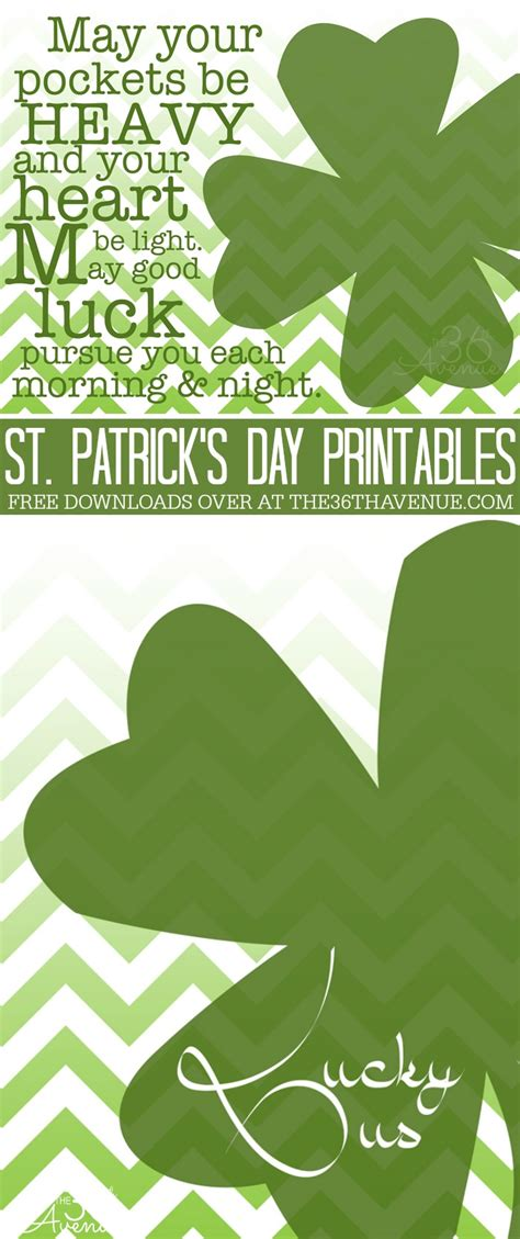 s day free st patricks day free printables the 36th avenue