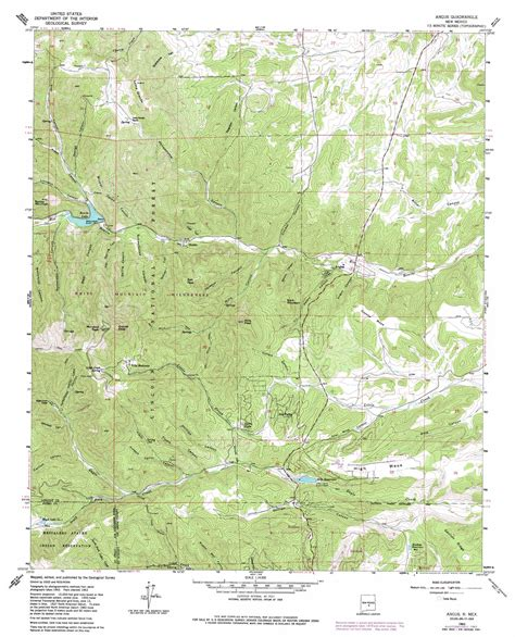 usgs topographic maps angus topographic map nm usgs topo 33105d6