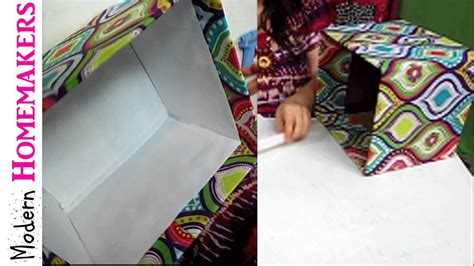 cover  box  fabric youtube