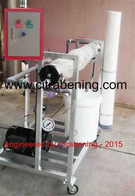 mesin cleaning membran ro water treatment management