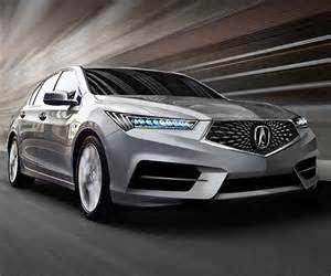 Acura rlx might get a new powertrain nsx like front end carsintrend