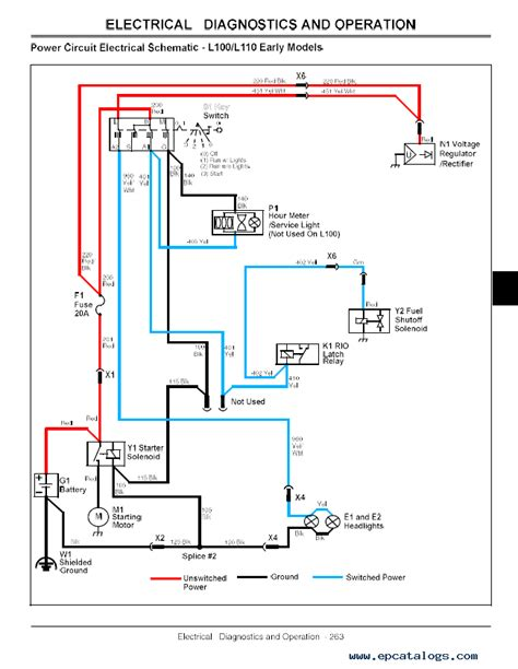 wiring diagram for deere l100 wiring diagram schemes