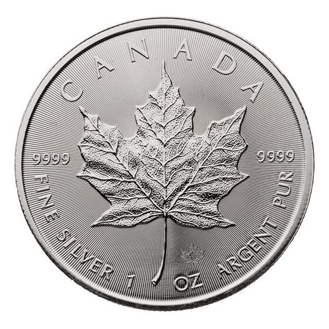 1 oz canadian maple leaf silver 2018 canadian silver maple leaf 1 oz 9999 canadian pmx