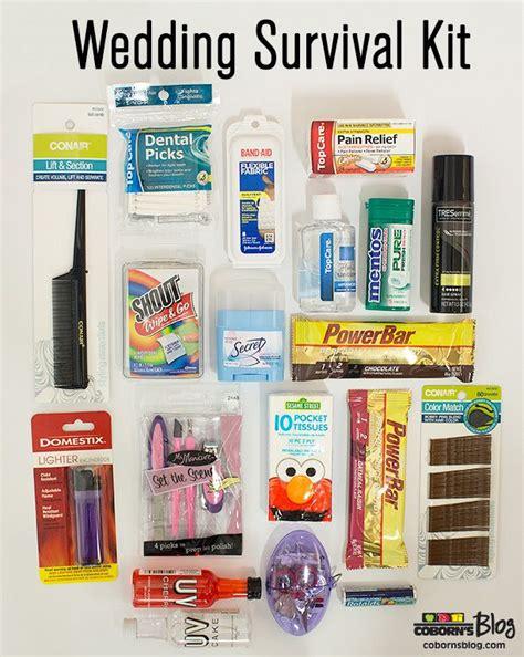wedding bathroom kit wedding survival kit makes a great bridal shower or