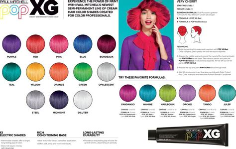 paul mitchell xg color chart 17 best ideas about paul mitchell color on