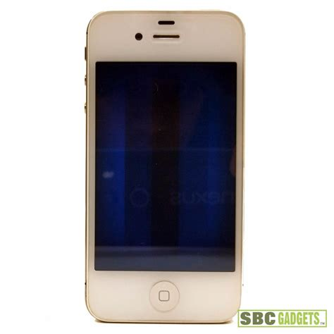 Hp Iphone Model A1387 for parts apple iphone 4s white blue screen failure