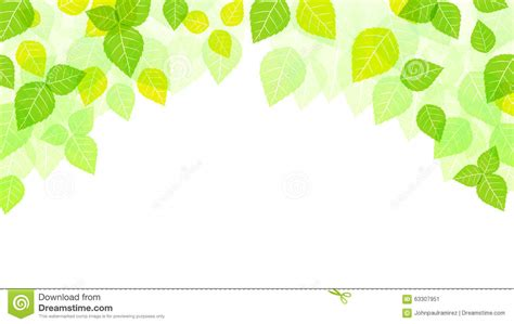 banner design for nature leaves background spring background nature season stock