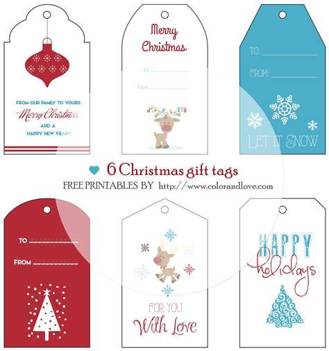 printable gift tags to color for christmas free printables christmas gift tags