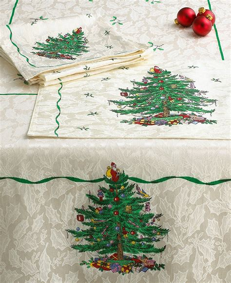 christmas trees fabric tablecloths christmas wikii