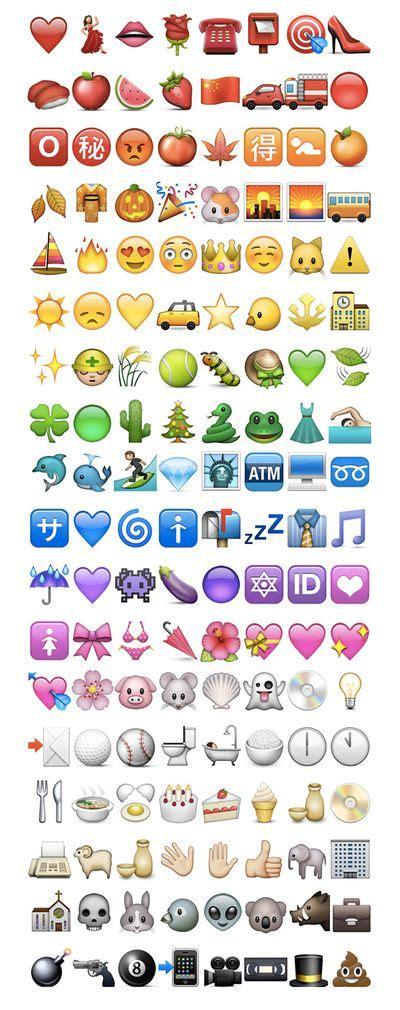 printable iphone emojis m 225 s de 25 ideas incre 237 bles sobre emojis en pinterest