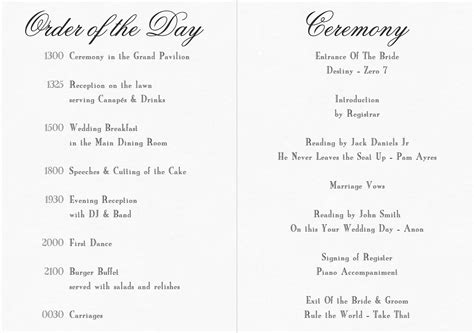 baptist wedding order  service wedding
