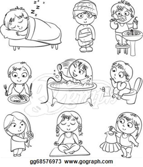 personal hygiene coloring pages coloring pages