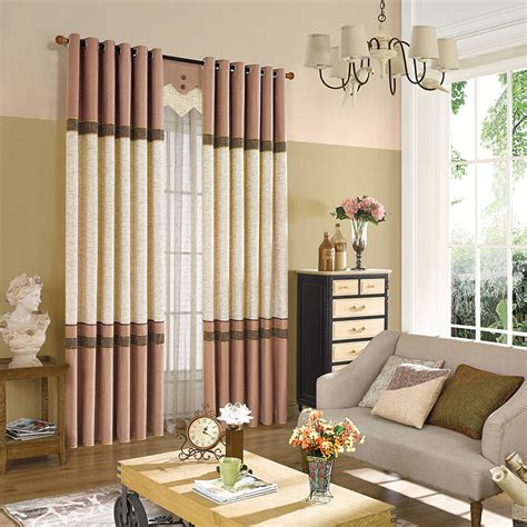 gestreifte vorh nge vorhang wohnzimmer modern