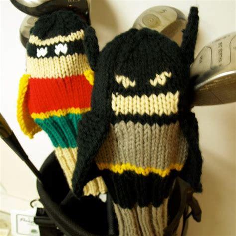 knit golf covers batman golf club cover golf headcover golf cover
