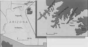 map of northeastern arizona expedition magazine producing generations in clay