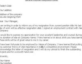 How To Write Resignation Notice by How To Write A Resignation Letter Best Business Template