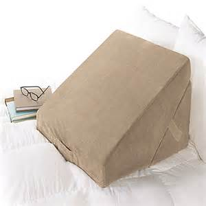 bed pillow brookstone 174 4 in 1 bed wedge pillow in brown bed bath beyond