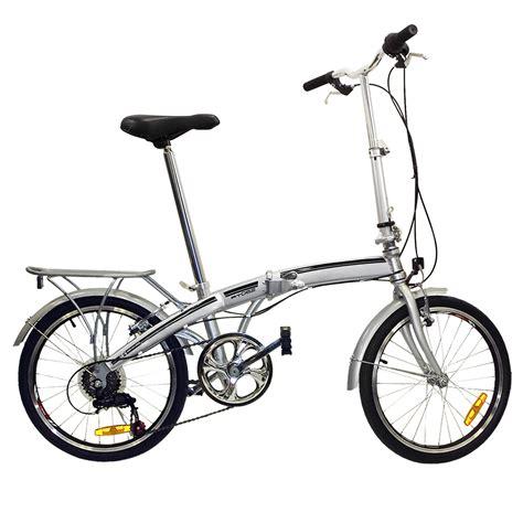 Folding Bike by Folding Bike 20 Quot Shimano 6 Speed Bike Fold Storage Silver