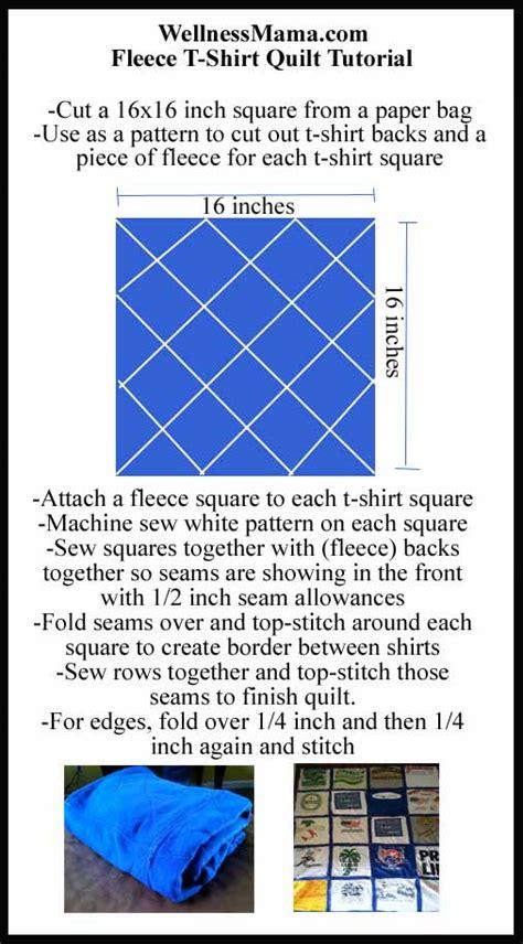T Shirt Quilt Template by T Shirt Quilt Pattern Printable Studio Design