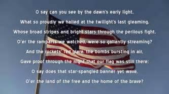 Star spangled banner u s national anthem lyri youtube