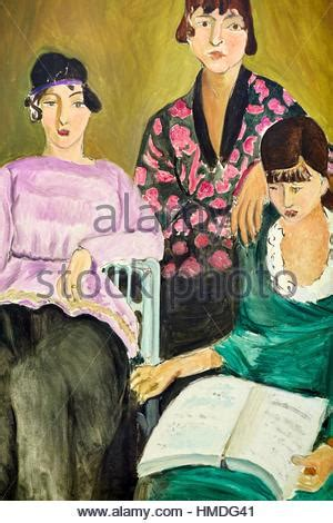 les trois soeurs french henri matisse 1869 1954 french painter one of the most important stock photo royalty free