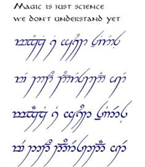 family elvish tattoo d d draconic script fonts and languages pinterest