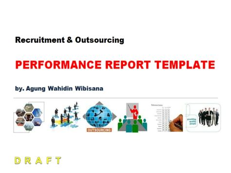 Annual Recruitment Report Template Recruitment Outsourcing Performance Report Template