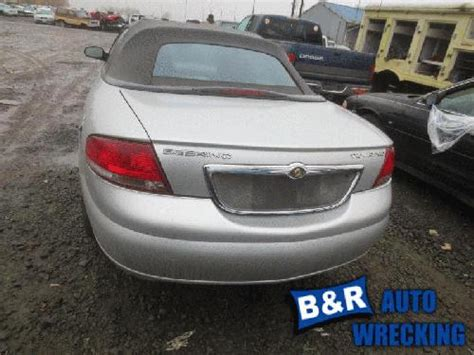 Chrysler Sebring Bumper by 2004 Chrysler Sebring Rear Bumper Assembly 22844535 190