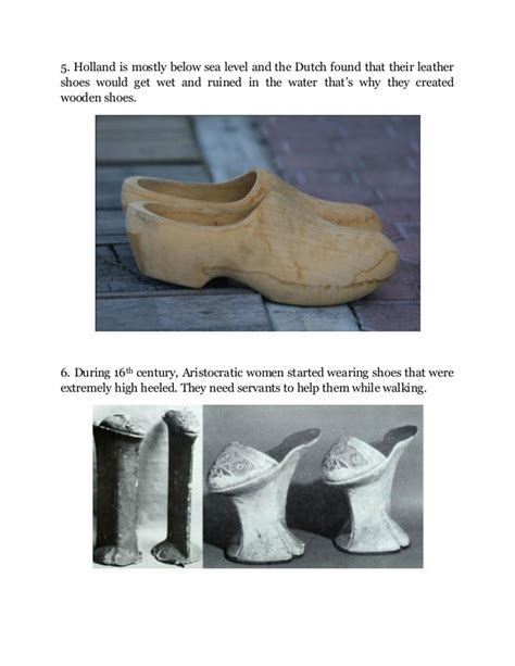 10 interesting facts about shoes