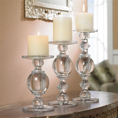 Glass Candle Stick Holders Top 12 Glass Pillar Candle Holders That Stand Out In Style