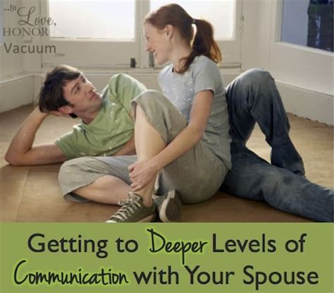 downsizing your home to love honor and vacuum levels of communication in marriage getting deeper