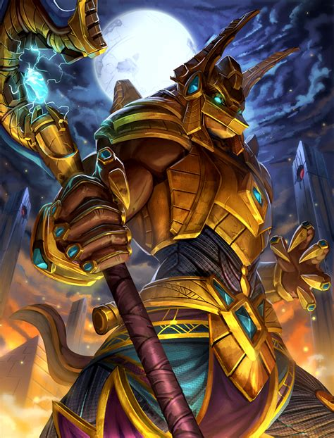 Smite Giveaways - smite isis and anubis sci fi skins giveaway