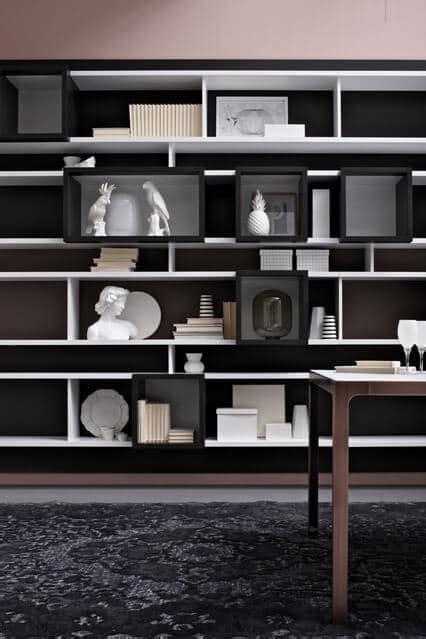 libreria per salotto libreria salotto e soggiorno libreria ad angolo su misura