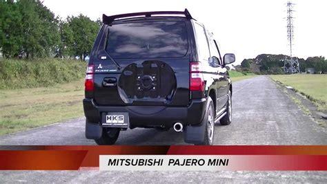nissan pajero mini mitsubishi pajero mini nissan kix hks hi power409