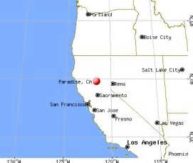 paradise california ca 95969 profile population maps