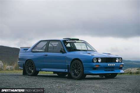 bmw rally car improving a legend a modern e30 m3 rally car speedhunters