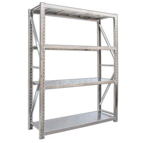 4 layers stainless steel warehouse racks 2000x600x2000mm