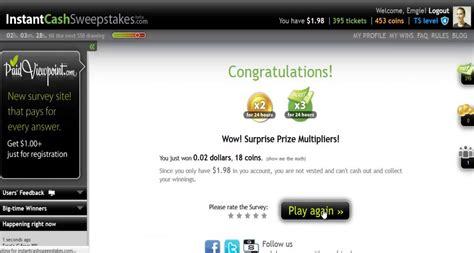 Legit Cash Sweepstakes - instant cash sweepstakes review downhill money product reviews online after dark