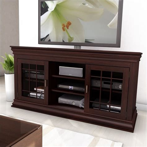60 Tv Cabinet by 60 Quot Wood Veneer Tv Stand In Espresso B 231 Nct