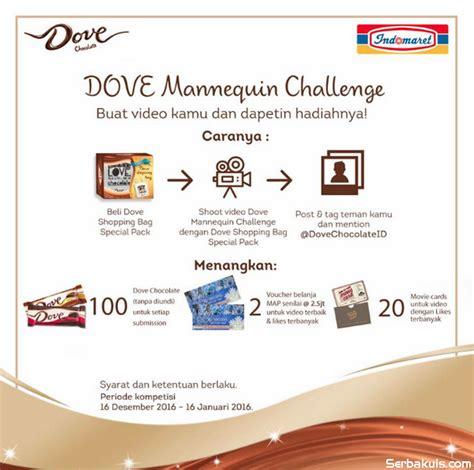 Voucher Indomaret 5 Juta Gift Card Indomaret b kuis dove mannequin challenge berhadiah 100 produk